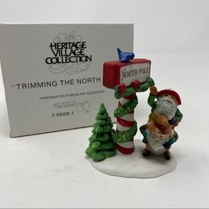 Department 56 Trimming the North Pole